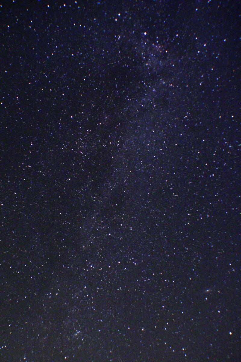 Die Milchstraße in Nidderau