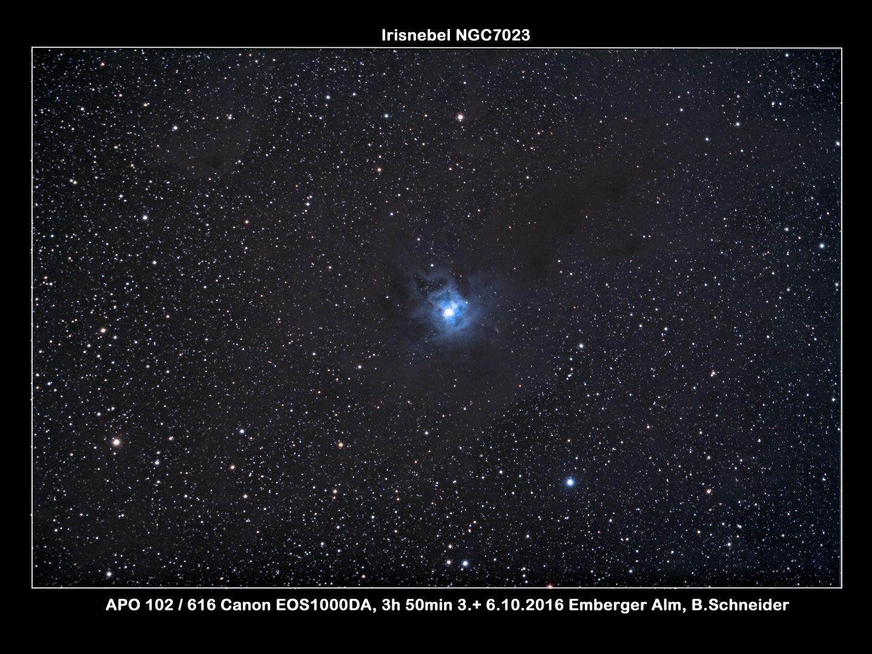 Irisnebel NGC 7023