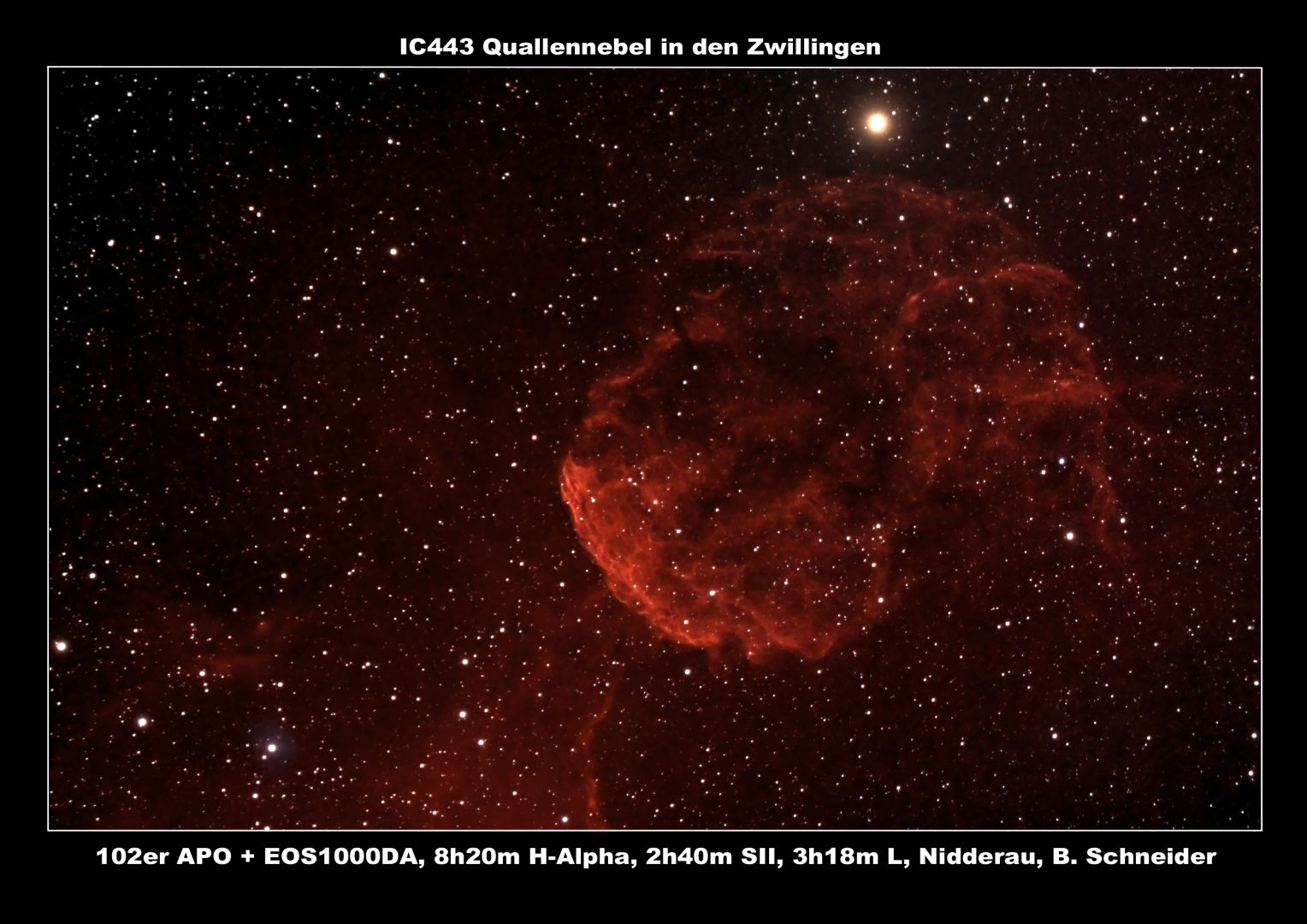 IC443 Quallen Nebel
