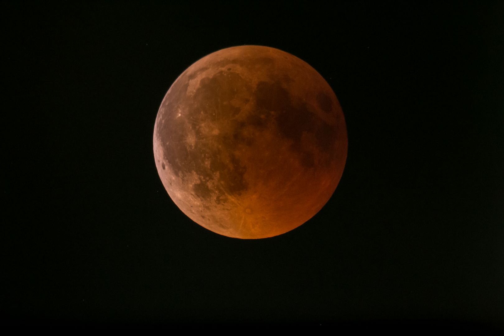 Mondfinsternis am 27.07.2018