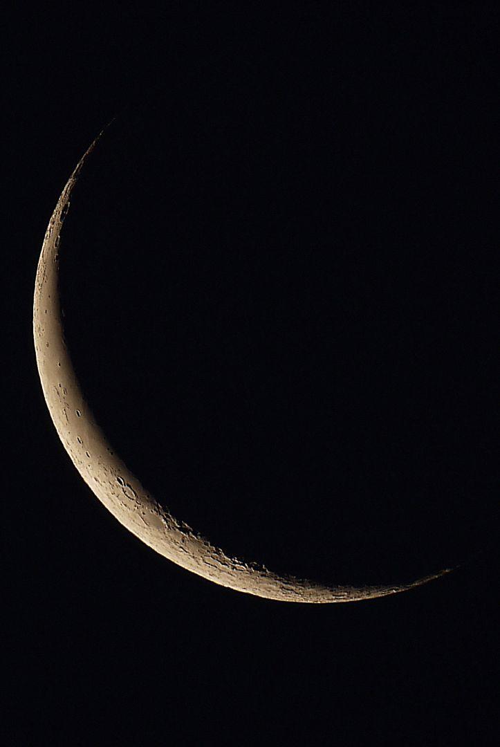 Abnehmenden Mond, 54 Stunden, 43 Minuten vor Neumond