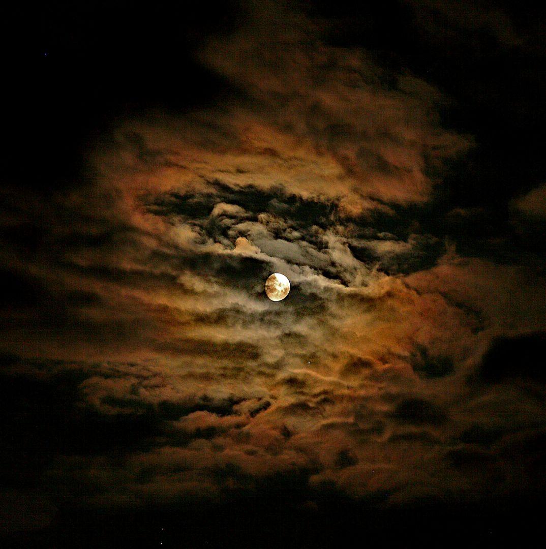 Mond nahe Jupiter