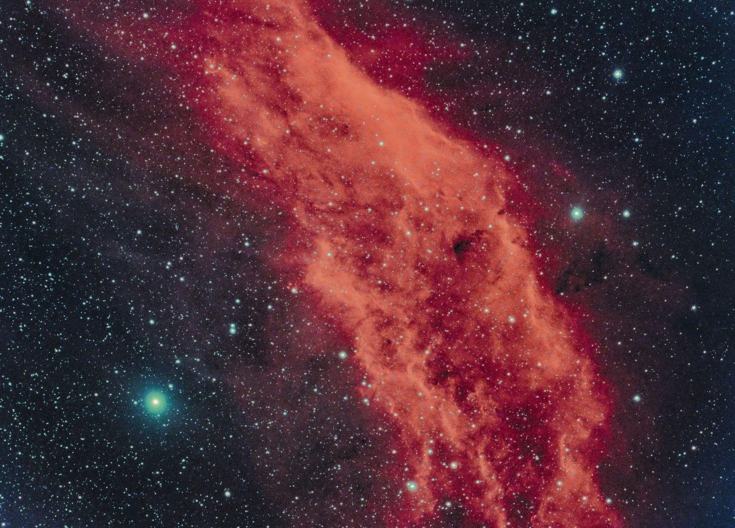 NGC1499 Kaliforniennebel