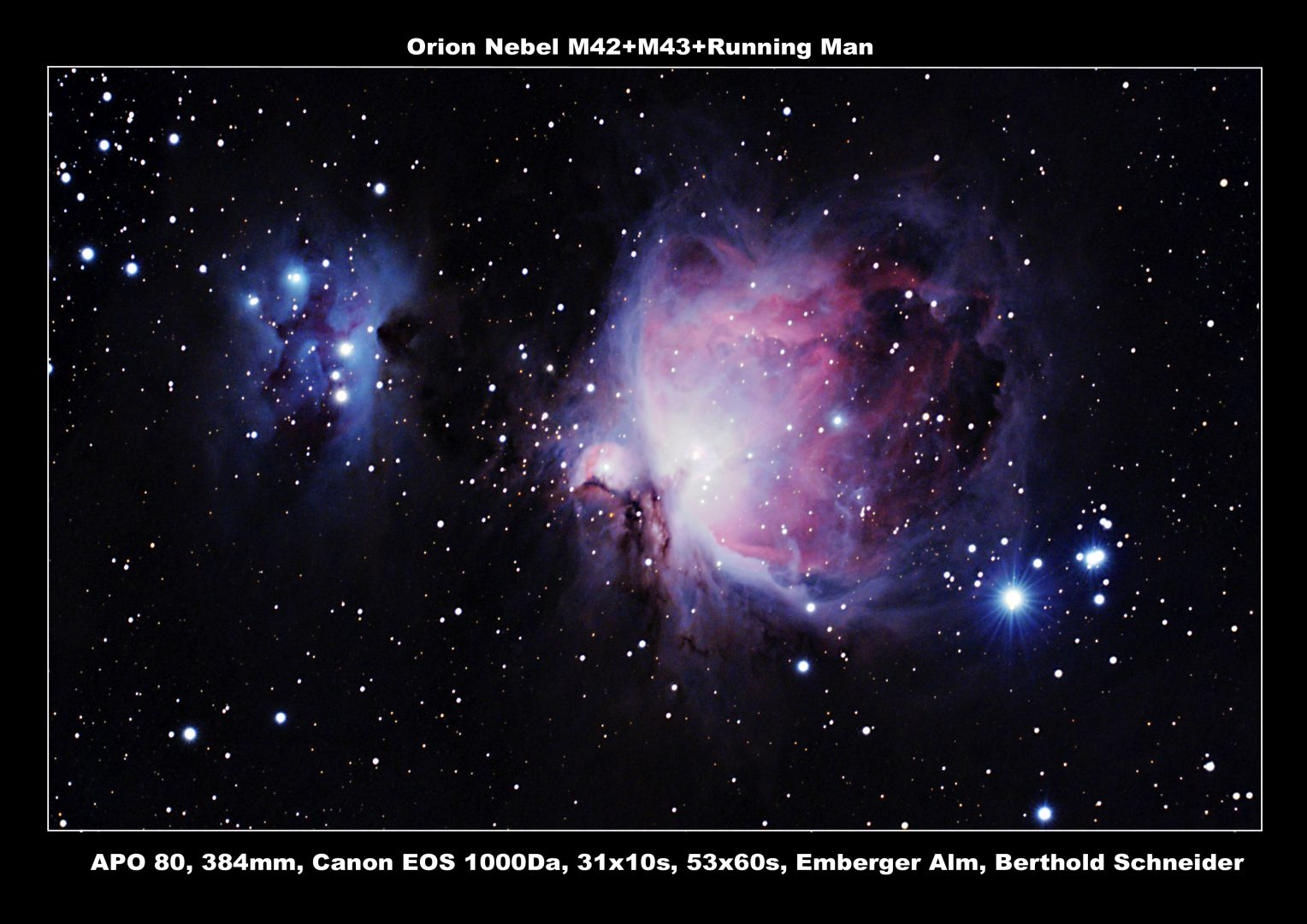 Orion Nebel