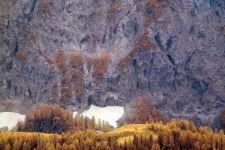 Berglandschaft Emberger Alm  2014 Kärntenin Infrarot
