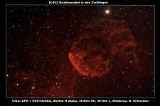IC443 Quallen Nebel