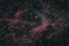 WR134 Ringnebel Bicolor